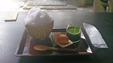 DSC_0185抹茶つぶら氷