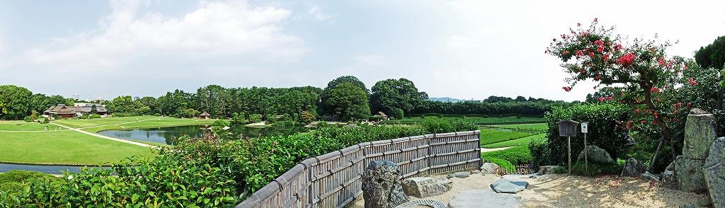 s-20140911 後楽園唯心山からの展望とワイド風景 (4)