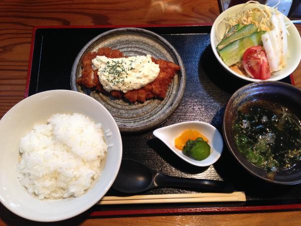 阿波尾鶏の南蛮定食4