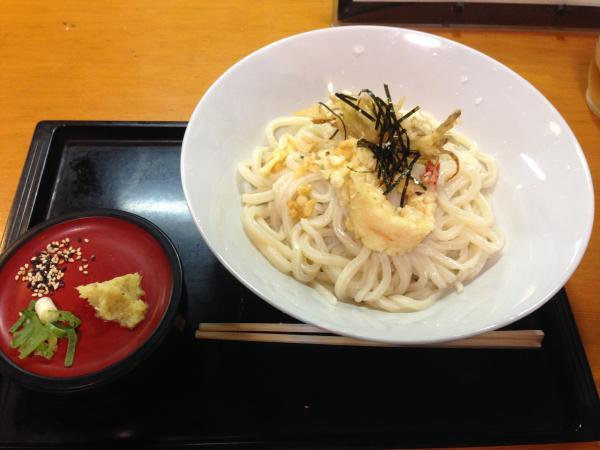 天ぷらざるうどん6
