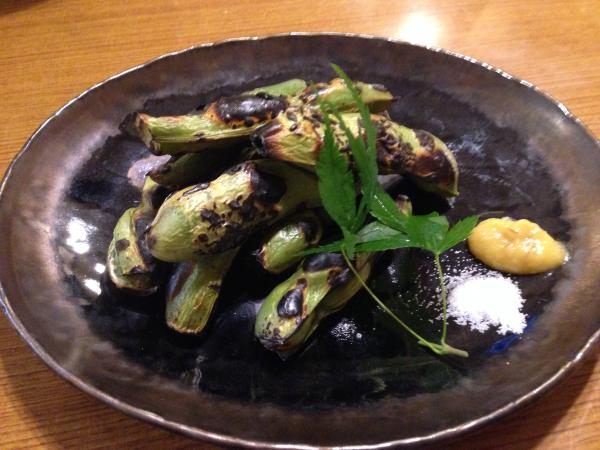 焼き空豆7