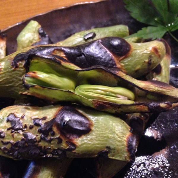焼き空豆8