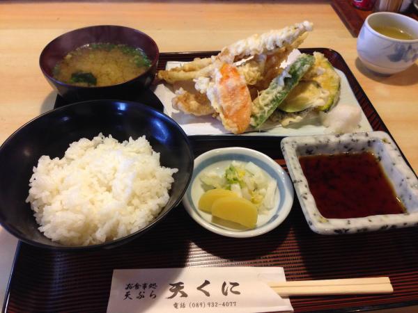 穴子天定食3