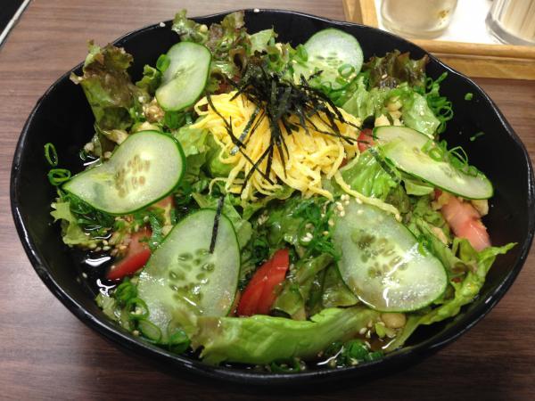 サラダうどん6
