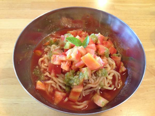 トマトぶっかけ麺5