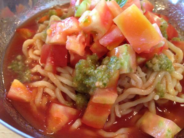 トマトぶっかけ麺アップ6