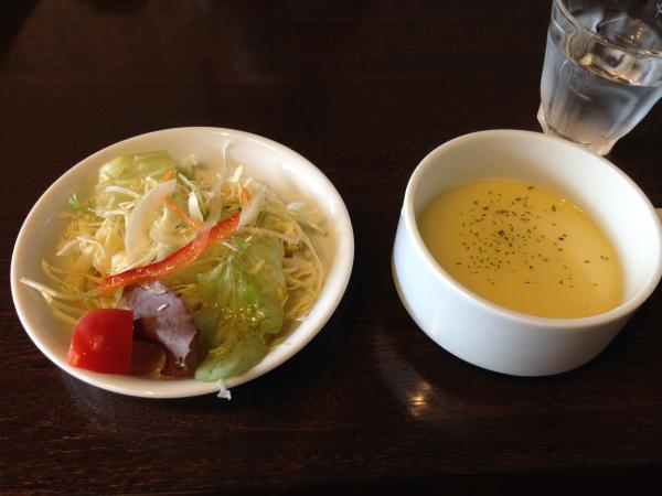 サラダとスープ5