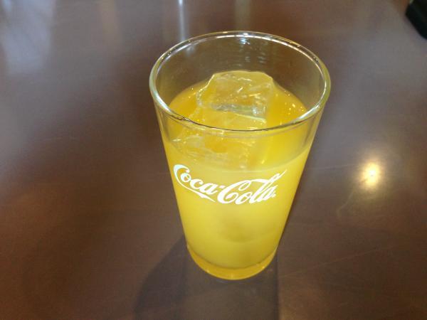 オレンジジュース10