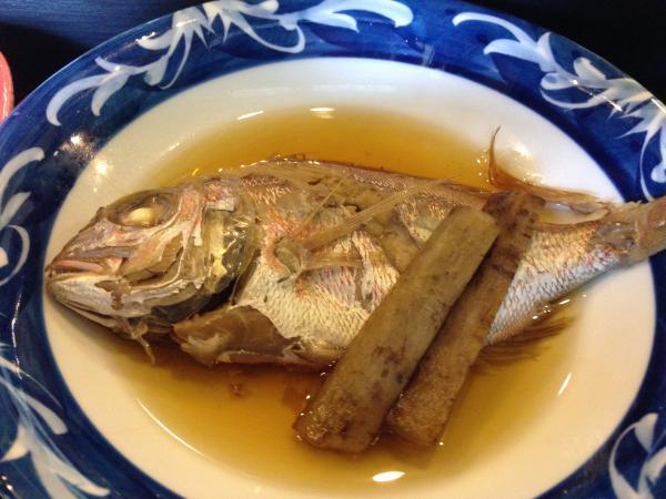 鯛煮付け6