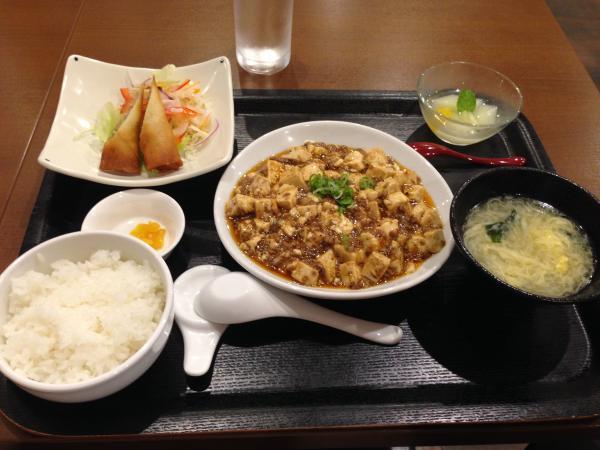 マーボー定食4