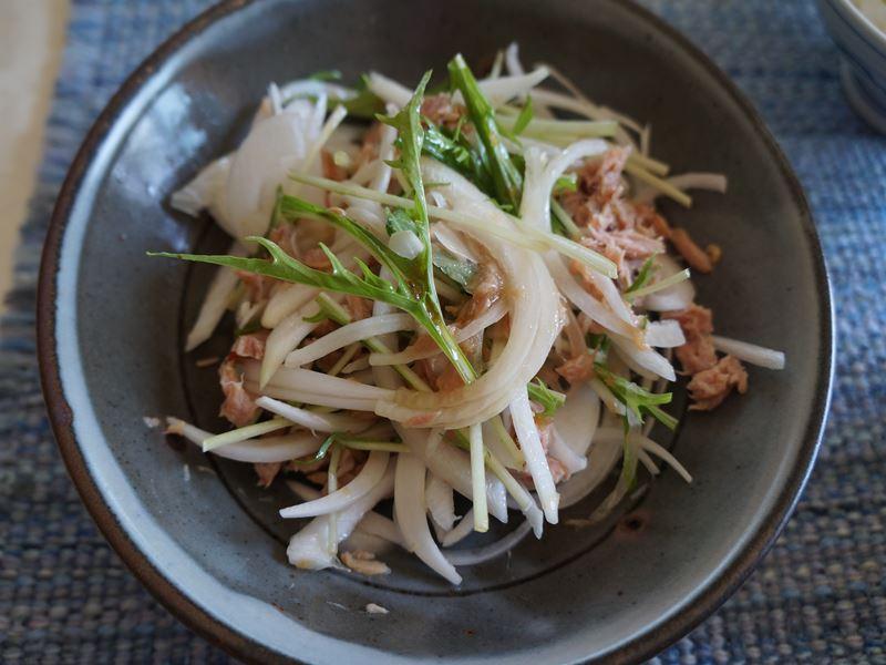 シーチキンと新玉のサラダ