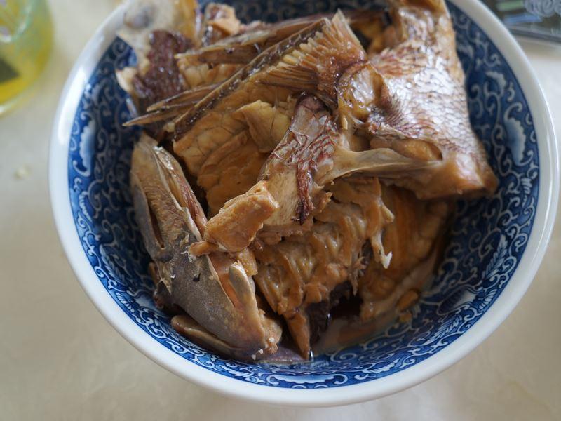 鯛のアラ煮