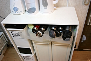 キッチン棚5