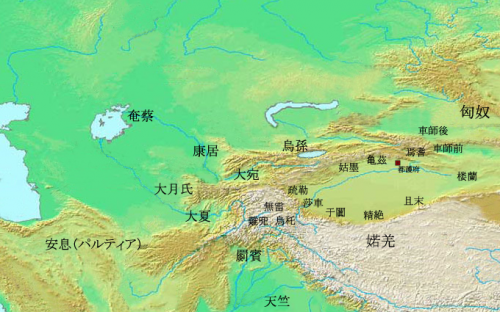 Western_Regions_in_The_1st_century_BC_(ja)_convert_20140827092805.png