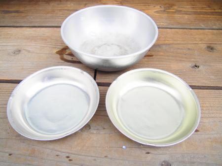 アルミ食器