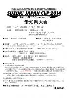 2014 SUZUKI JAPAN CUP 愛知県大会_01