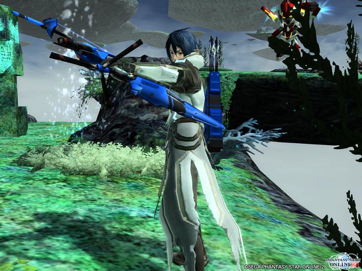 PSO2 青のバレットボウ 1
