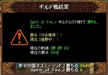 14.6.1Spirit of Fire様 結果