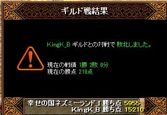 14.7.2KingK様 結果