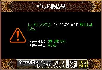 14.8.31レッドリンクス様 結果