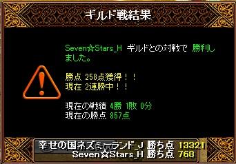 14.9.14Seven☆Stars様 結果