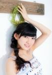 AKB48 岡田奈々 セクシー 顔アップ カメラ目線 脇 三つ編み 高画質エロかわいい画像1