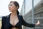 谷村美月 セクシー 胸チラ 巨乳おっぱいの谷間 壁紙サイズ たぶらかし 女優 高画質エロかわいい画像1