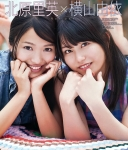 AKB48 北原里英 横山由依 セクシー カメラ目線 顔アップ 頬杖 高画質エロかわいい画像1