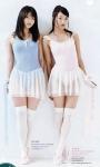 AKB48 北原里英 横山由依 セクシー シースルー レオタード 脇 太もも 全身 ニーソックス 高画質エロかわいい画像4