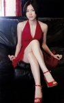 SKE48 松井珠理奈 セクシー カメラ目線 女子高生アイドル 15歳 誘惑 赤ドレス スカート チラリズム 太もも 高画質エロかわいい画像118