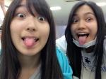 AKB48 大島涼花 田野優花 セクシー 舌出し 顔アップ 口開け カメラ目線 イタズラ 高画質エロかわいい画像2 顔射ぶっかけ用素材
