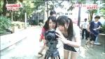 SKE48 木本花音 セクシー 胸チラ 小学生アイドル おっぱいの谷間 地上波キャプチャー ツインテール 高画質エロかわいい画像1