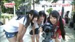 SKE48 木本花音 セクシー 胸チラ 小学生アイドル おっぱいの谷間 地上波キャプチャー ツインテール 高画質エロかわいい画像4