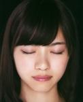 乃木坂46 西野七瀬 セクシー キス顔 顔アップ 目を閉じている 唇 高画質エロかわいい画像1