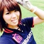 SKE48(元AKB48) 山内鈴蘭 セクシー 舌出し 顔アップ カメラ目線 自撮り ゴルフウェア 高画質エロかわいい画像43