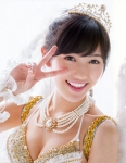 AKB48 渡辺麻友 選抜総選挙 水着サプライズ発表2014 セクシー おっぱいの谷間 顔アップ ピース 笑顔 カメラ目線 高画質エロかわいい画像84