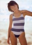羽田美智子 セクシー ハイレグ水着 脇 太もも ムチムチ 女優 1980年代アイドル 高画質エロかわいい画像3