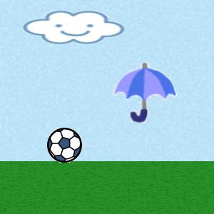 雨のサッカー20140623
