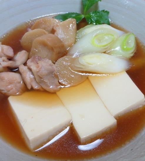 鶏豆腐 大