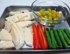 鶏胸肉と銀杏の炒め 【下準備】②