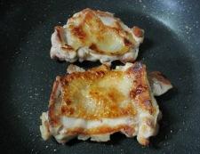 チキンのマスタードチーズパン粉焼き 調理①