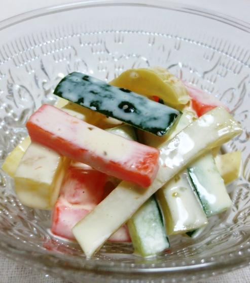 たくあんの柚子胡椒マヨ B