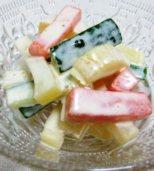 たくあんの柚子胡椒マヨ 大