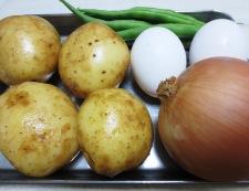 洋風鶏じゃが卵 材料①