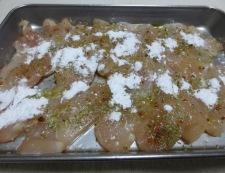 鶏胸肉のハーブ焼き 調理②