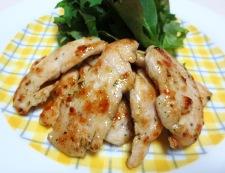鶏胸肉のハーブ焼き 調理④
