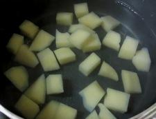 サイコロステーキと彩り野菜 【下準備】②