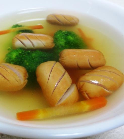 ソーセージのスープ B