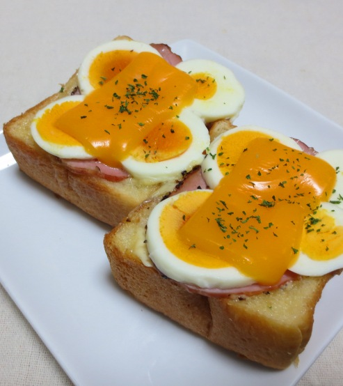卵チーズトースト B