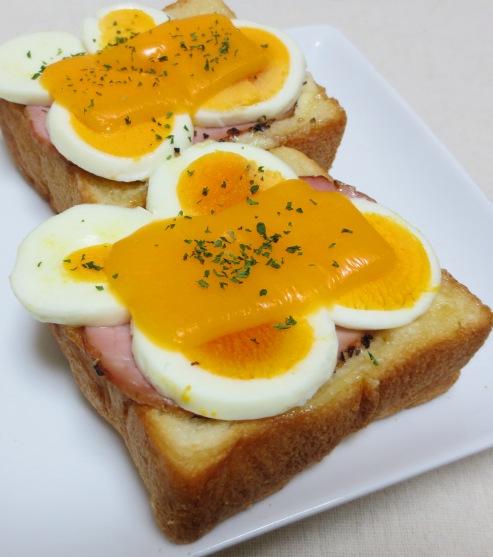卵チーズトースト 大
